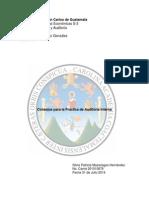 Impresion de Consejos Para La Practica de Auditoria Interna Para Jueves 31 de Julio 2014