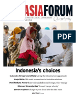 East Asia Forum Quarterly Vol5 No4 OctDec2013 Indonesias Choices
