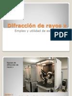 Difraccion de Rayos x Presentacion2