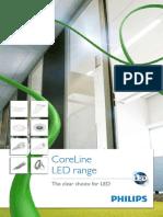 CoreLine LED Brochure 2013