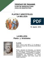 La Belleza - Platón y Aristóteles