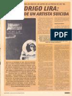 Rodrigo Lira Retrato de Un Artista Suicida