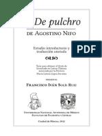 Agostino Ninfo, De Pulchro
