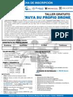 Ficha de Indicación - Taller Drone