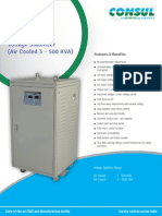 Voltage Stabilizers (Air Cooled)