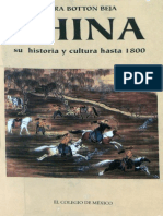 China. Su Historia y Cultura Hasta 1800