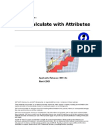 How to… Calculate with Attributes