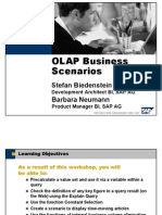 OLAP Business Scenarios