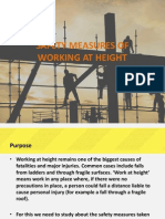 Safety on construction work at heights