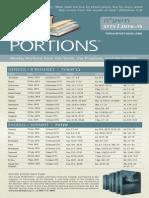 Torah Portions 5775 (FFOZ)