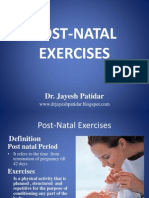 Post Natal Exercises