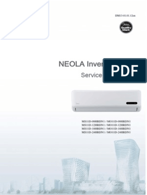 MS11D-09HRDN1 DM13-01 01 12 Service Neola Inverter En | Air