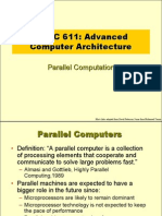 PARALLEL COMPUTER ARCHETECTURE