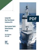 CenSec/FAD/Naval Team Denmark Conference 2014