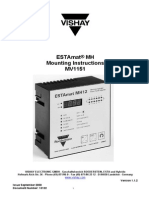 Regulator - ESTAmat MH Mounting Instructions MV1151 (Sept 2000)