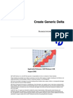 How to … Create Generic Delta