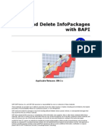 How to... Create and Delete Info Packages With BAPI