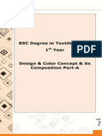 Design & Colour Concept & Its Composition Part-A