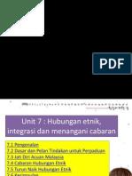 unit 7 Hubungan Etnik