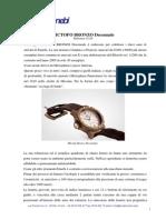 Mictofo Bronzo Decennale Ref. 13210