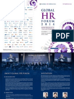 Brochure - Global HR Forum 2014