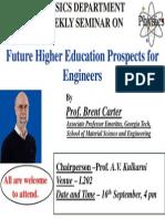 2014 Seminar 5 Physics Department
