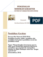 Introduction of Character Education Published
