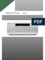 Avr400 Service Manual