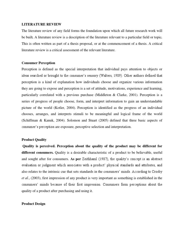 literature review of ufone