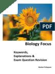 biology focus book qs