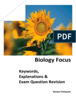 biology focus book qs