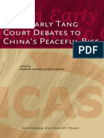 Assandri Martins From Early Tang Court Debates to Chinas Peaceful Rise