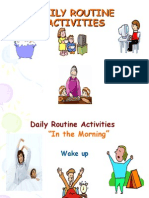 Daily Routine Activities Students