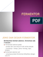 Fermentor (Proses Fermentasi)