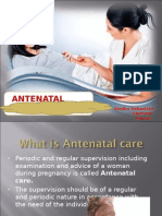 Antenatal Care for 3rd Year Bsc Nsg 2013