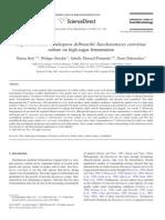 Impact of mixed Torulaspora delbrueckii- Saccharomyces cerevisiae culture on high sugar fermentation