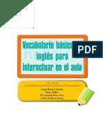 Frases Interactuar Aula Ingles