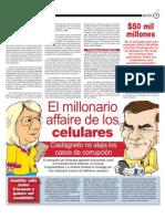 El millonario affaire de los celulares