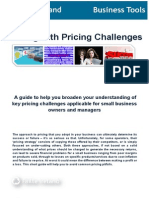 Dealing With Pricing Challenges