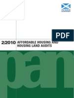 CD012 Planning Advice Note 2.2010 - Affordable Housing and Housing Land Audits (August 2010)