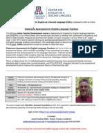 CESL Assessment Course Flyer (Oct 2014)