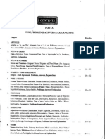 Index and Articles