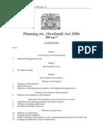 CD021 Planning Etc. (Scotland) Act 2006 (December 2006)