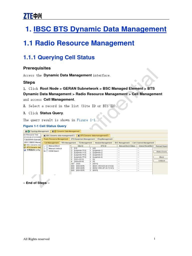 ZTE Cell Block & Unblock Management V1 0   Computer