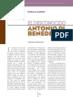 Antonio Di Benedetto- Análisis Genralidades