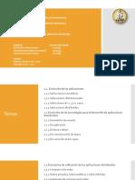 Panorama General De Las Aplicaciones