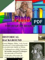 Plato the Rule of REASON