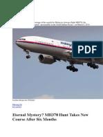 Missing Jet MH370