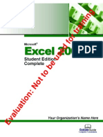 Excel Tutorial 2003