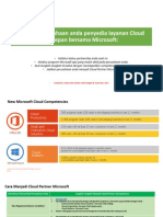 Cara Menjadi Cloud Partner Microsoft (NEW COMPETENCIES)